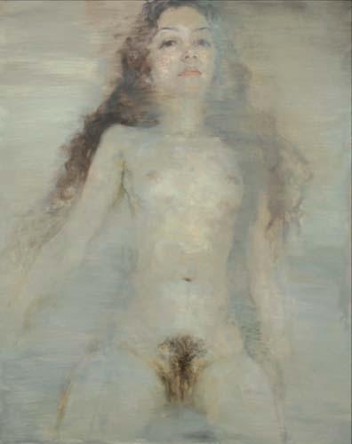 从忧伤到空灵-何多苓的人体艺术【6】--艺术收