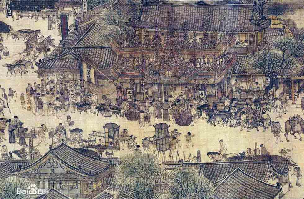 北宋画家张择端 清明上河图 赏析 艺术收藏