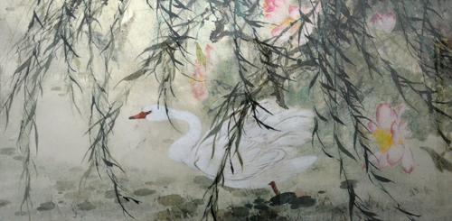 天津美术学院首届教师作品双年展现场作品