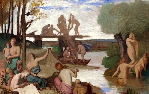 充满诗意的油画:法国画家夏凡纳作品欣赏