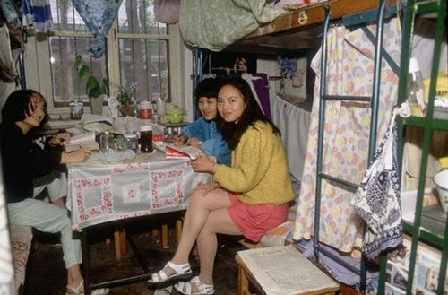 高清老照片:80年代的中国大学校园生活【2】