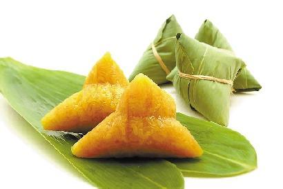 宁波粽子(浙江宁波粽子为四角形,有碱水粽,赤豆粽,红枣粽等品种.