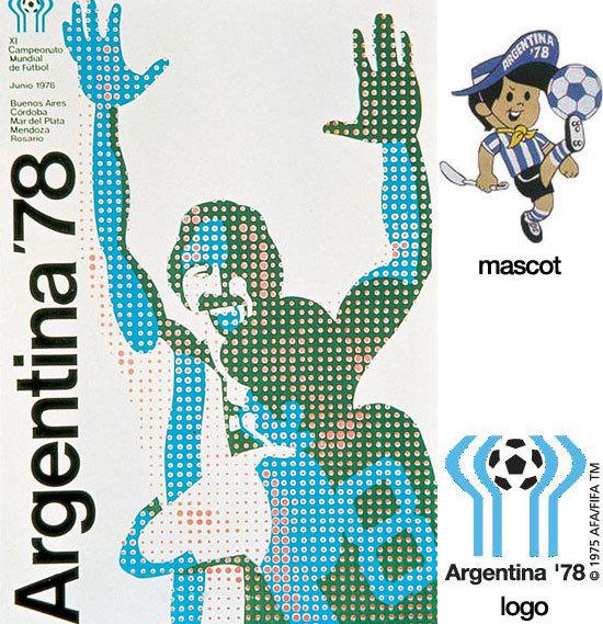 1978年 阿根廷世界杯海报