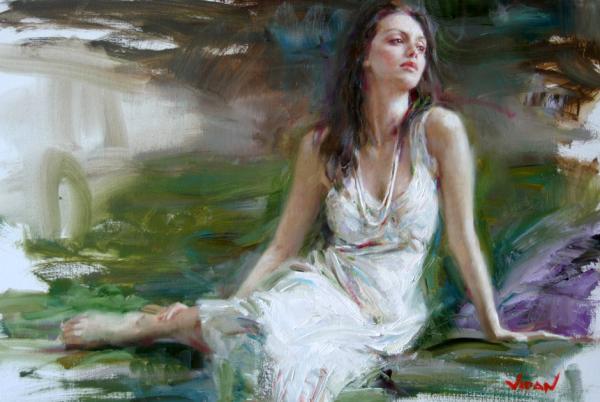 意大利画家vidan唯美油画作品欣赏
