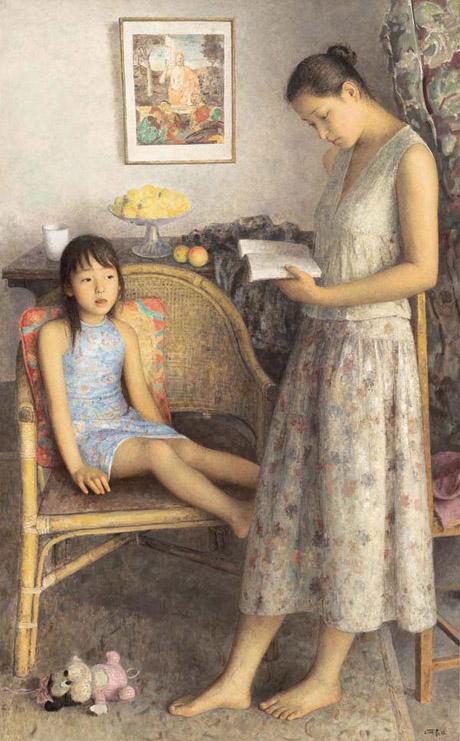 张春林最新博客_柔和的光线:朱春林油画作品欣赏【4】--艺术收藏--人民网