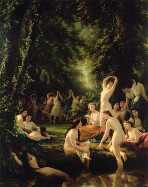 瑞士画家弗里茨·朱伯布勒油画作品欣赏