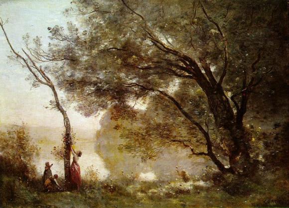 法国古典派画家柯罗油画作品欣赏