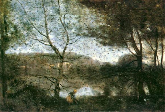 法国古典派画家柯罗油画作品欣赏【9】