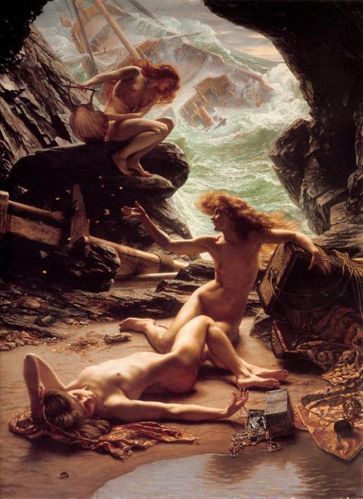 法国画家爱德华·约翰·波因特油画作品欣赏
