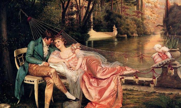 法国艺术家弗雷德里克·约瑟夫油画作品欣赏
