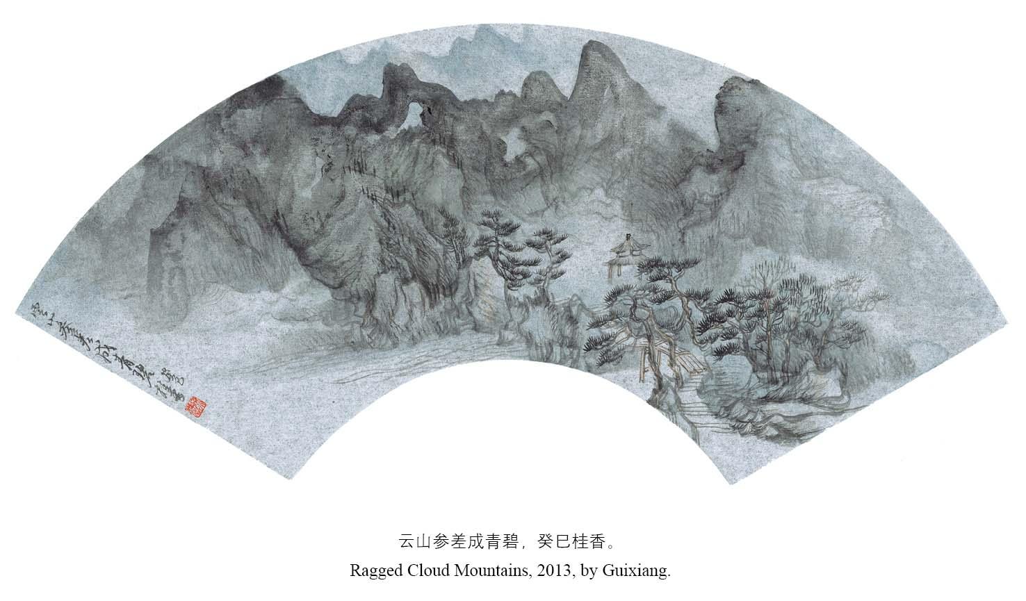 画家徐桂香参展作品
