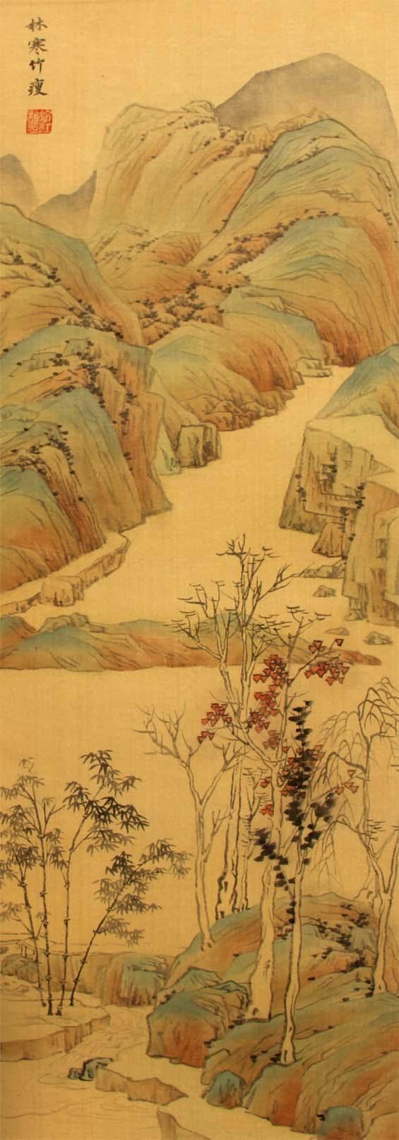 画家徐红梅参展作品