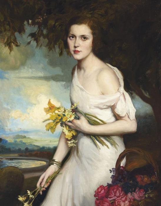 西班牙画家费尔南多·阿尔瓦雷斯油画作品欣赏