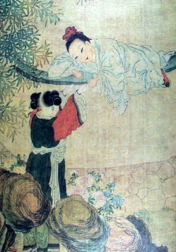 唐伯虎人物画作品赏析 艺术收藏图片