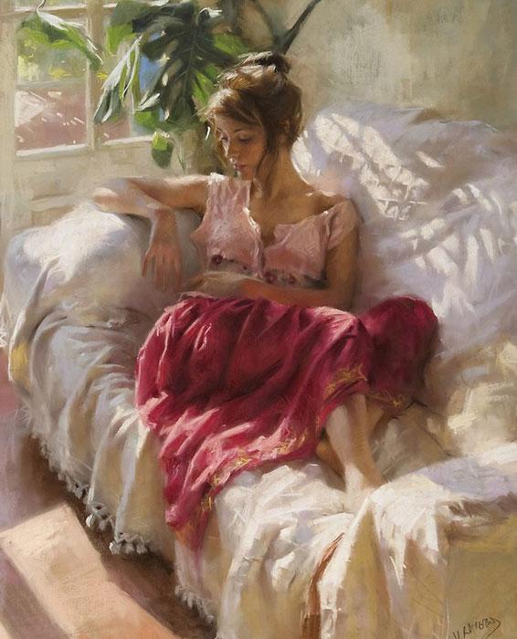 西班牙艺术家Vicente Romero Redondo油画作品欣赏--艺术收藏--人民网