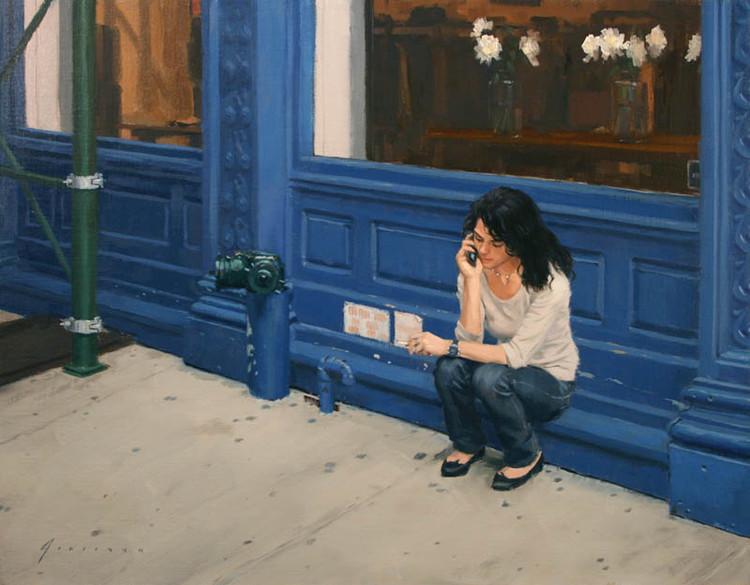 美国艺术家Vincent Giarrano人物油画作品欣赏