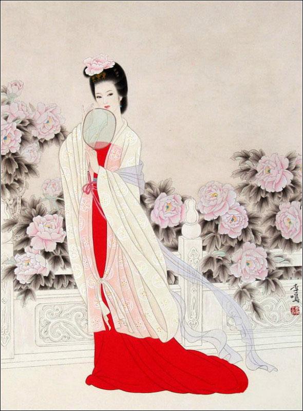 工笔中的古典美女 艺术收藏