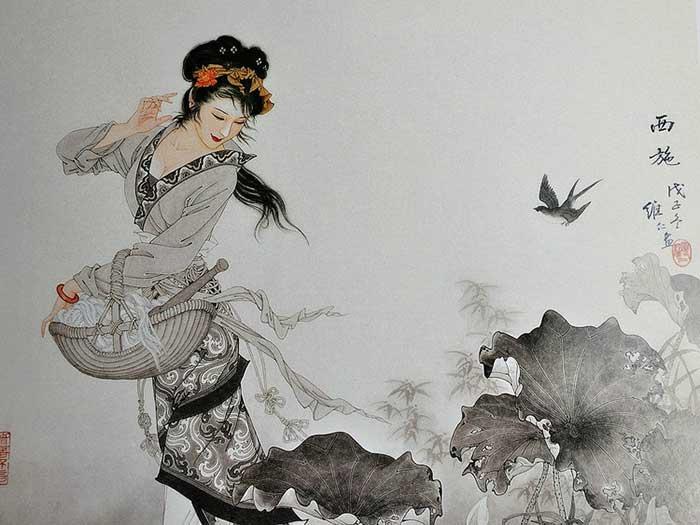 冰雪为肌玉为骨 中国画中的古代美女