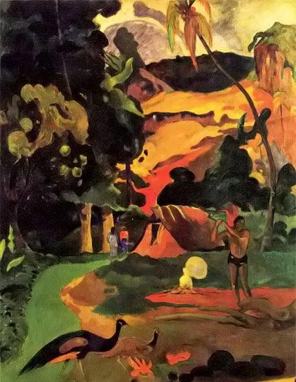 法国画家保罗·高更油画作品欣赏--艺术收藏--人民