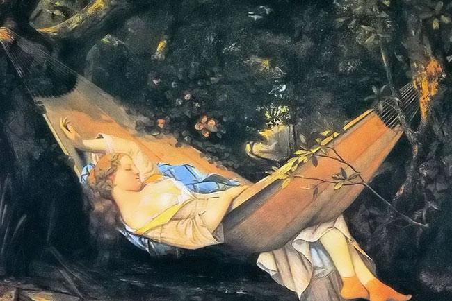 法国画家古斯塔夫·库尔贝油画作品欣赏--艺术收藏
