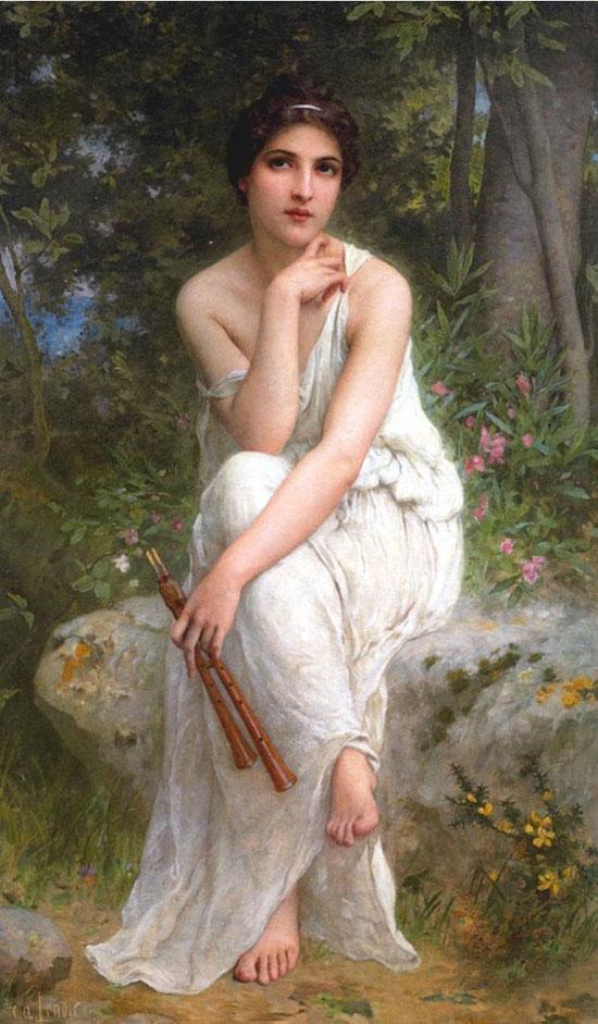艺术欣赏:油画中的女性美【17】
