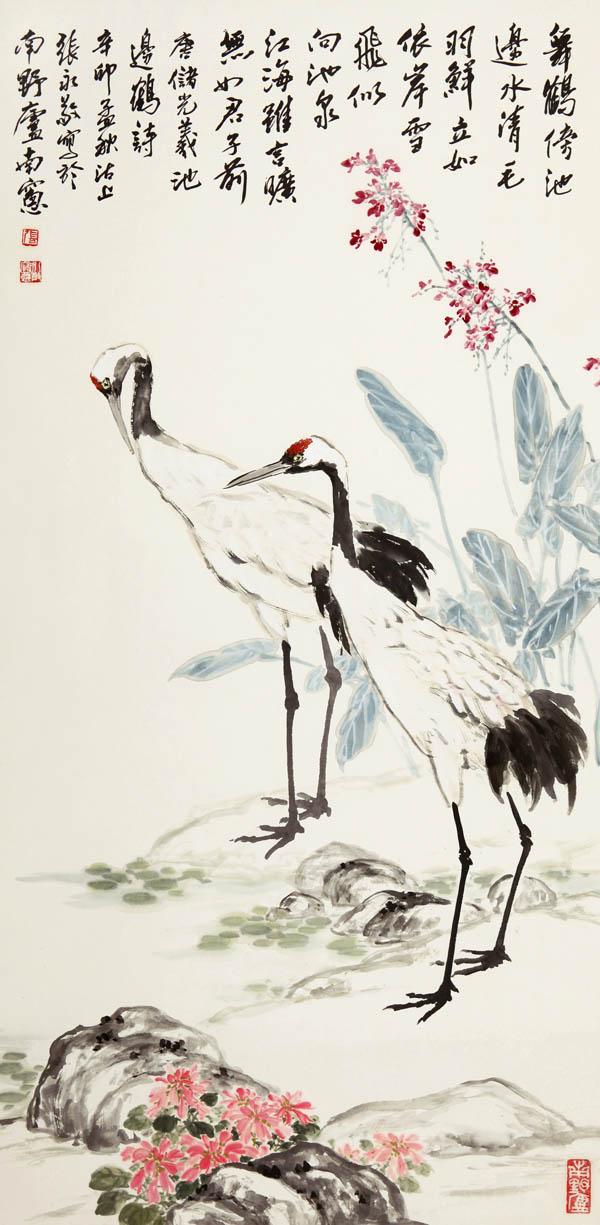 贾宝珉的国画花鸟作品欣赏