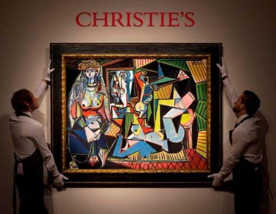 """毕卡索《阿尔及尔的女人(""""O""""版本)》 油彩画布 1955年作 估价:1.4亿美元(约8.8亿人民币)"""