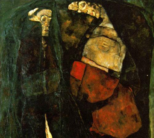 席勒/高清组图:埃贡·席勒作品欣赏