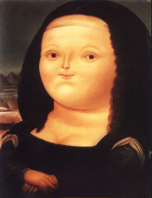 肥胖的蒙娜丽莎