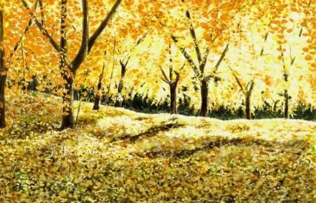 日本画家唯美水彩画欣赏 艺术收藏