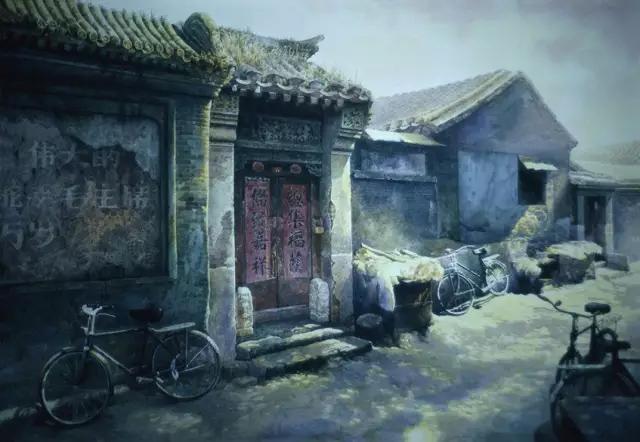 老北京水彩画精品欣赏(高清组图)--艺术收藏--人民网