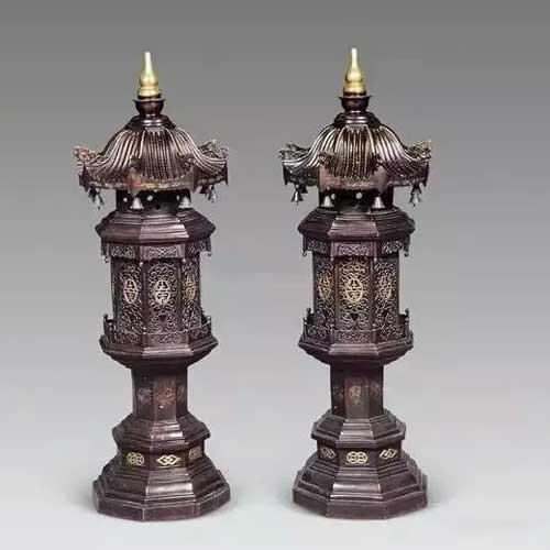 中国古代宫灯,尽显皇室奢华!