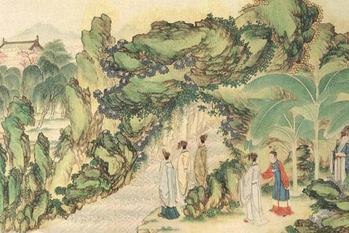 清代孙温《红楼梦》手绘本