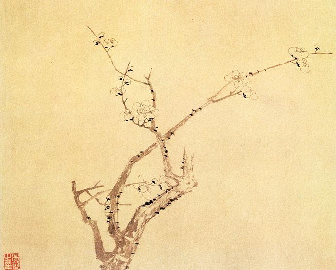 10件中国古代梅花绘画作品欣赏