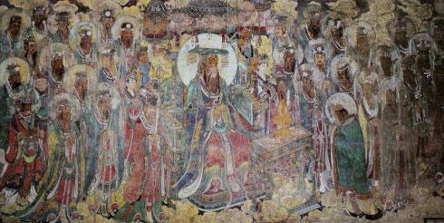 永乐宫精美壁画 再现道家之诸神传说