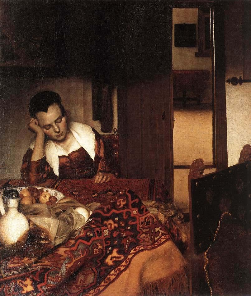 荷兰画家维米尔的30件存世油画作品欣赏--书画--人民