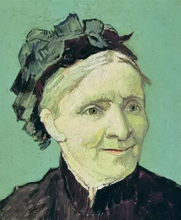 文森特·梵高 《梵高母亲的肖像》