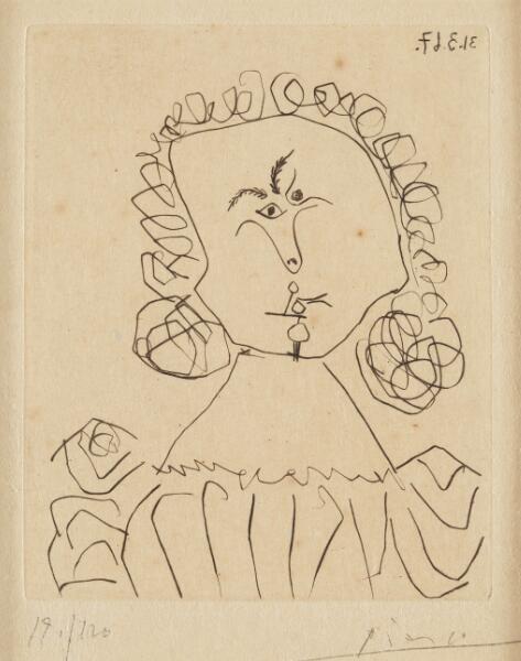 毕加索《毕加索画像漫笔》