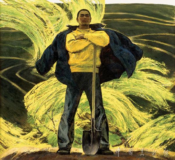 潮作者:詹建俊創作年代:1984規格:177×196cm材質:布面油畫