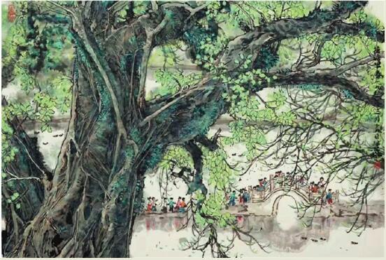 中国书法赛事网怀念林丰俗:画坛远去的君子风范