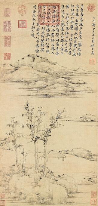 中国书画从古至今的发展脉络精选展品