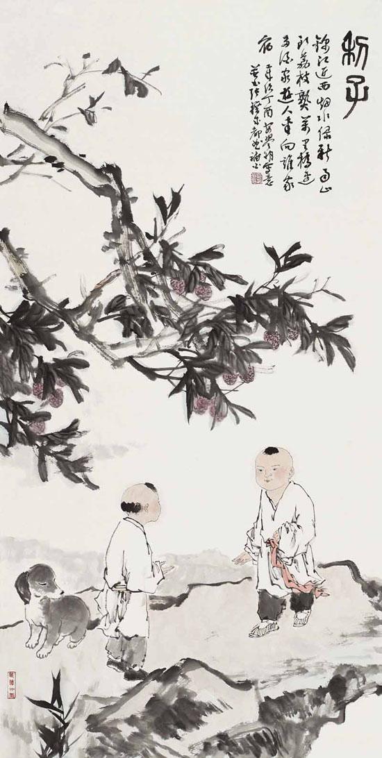 安祥祥博士中国画近作欣赏