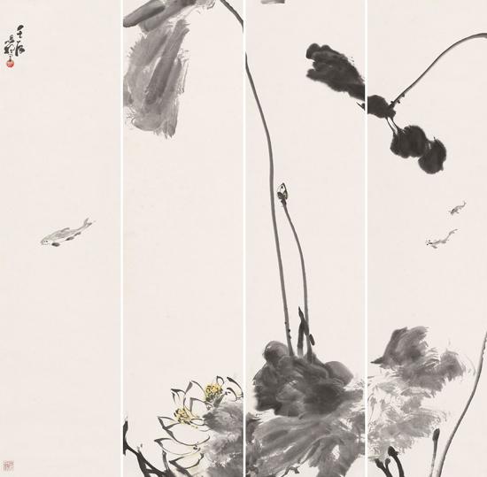 北京建筑大学老师颛孙恩扬中国花鸟画作品欣赏