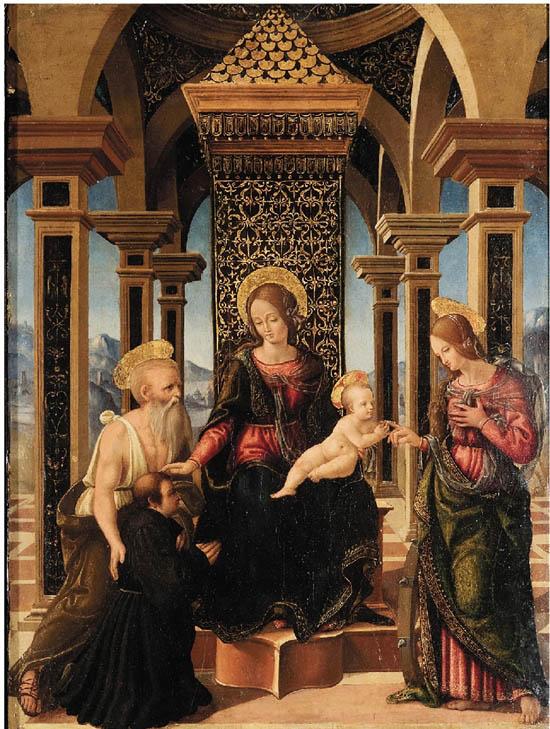 拉斐尔·桑西 圣凯瑟琳的神秘婚礼