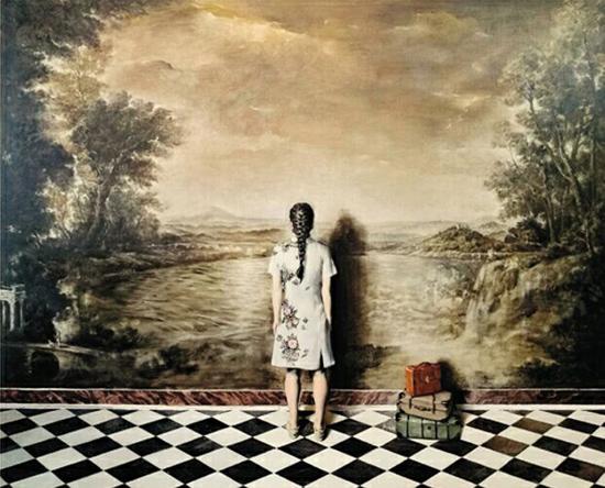 王家豪(中国美术学院) 误读系列之旅行油画