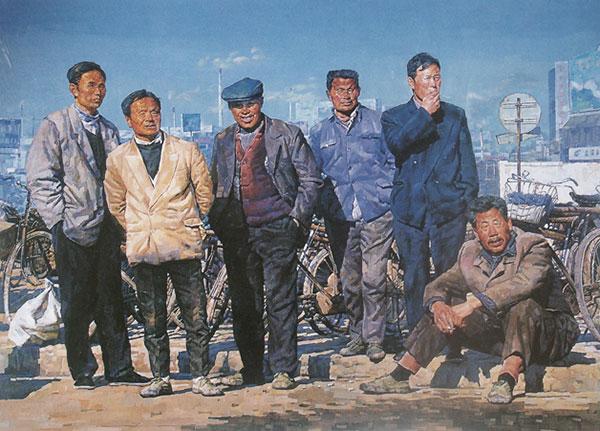 """""""永恒的情怀——陆庆龙绘画作品展""""在中国美术馆展出"""