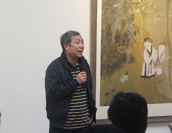 北京師範大學副校長陳光巨現場致辭。