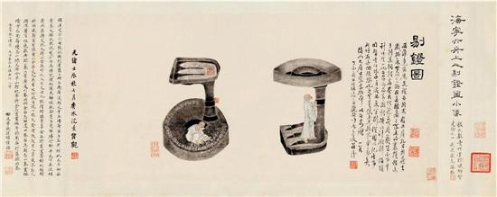 全形拓的对象可包括古器物的各个门类,但其中以青铜器最为常见