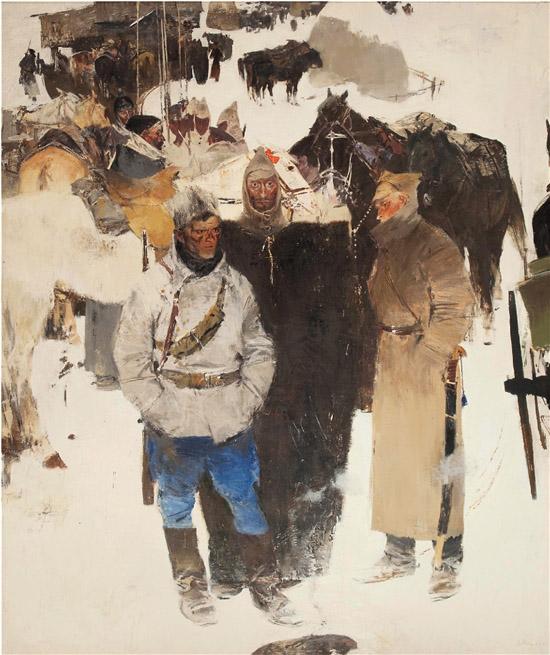 推出莫伊谢延科大型画展,对油画创作语言的深化有很大作用