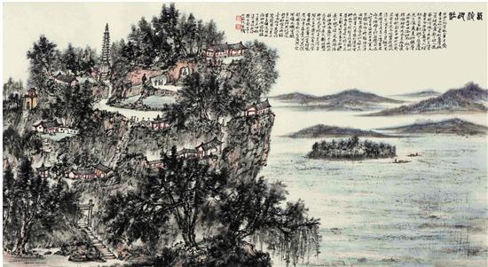 通过一张张作品,人们会寻找到画家跋山涉水的写生足迹